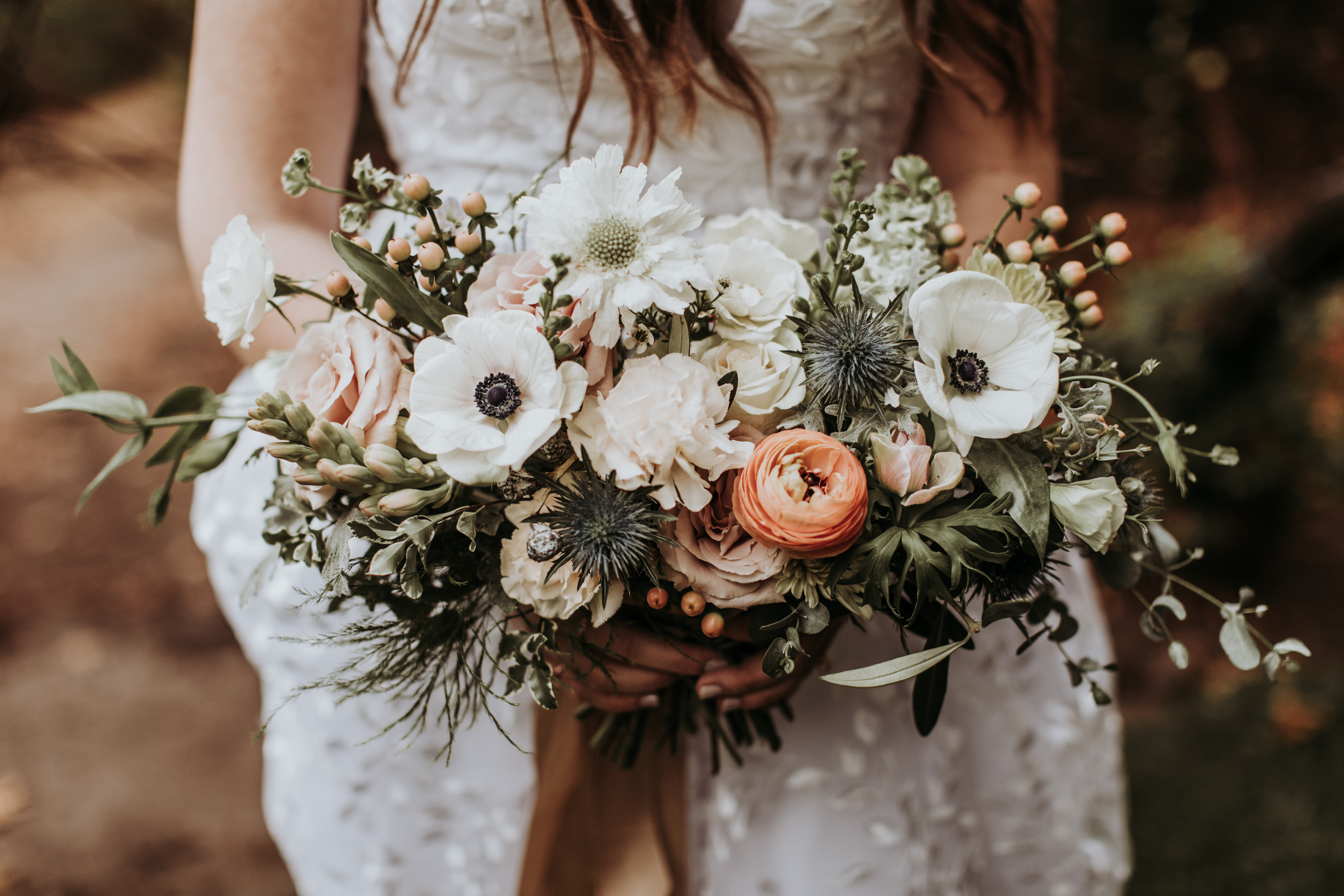 Soft Color Pallet Rainy Wedding in San Diego